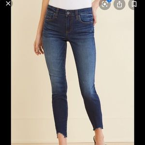 Kut from the Kloth Frayed Crop Jeans